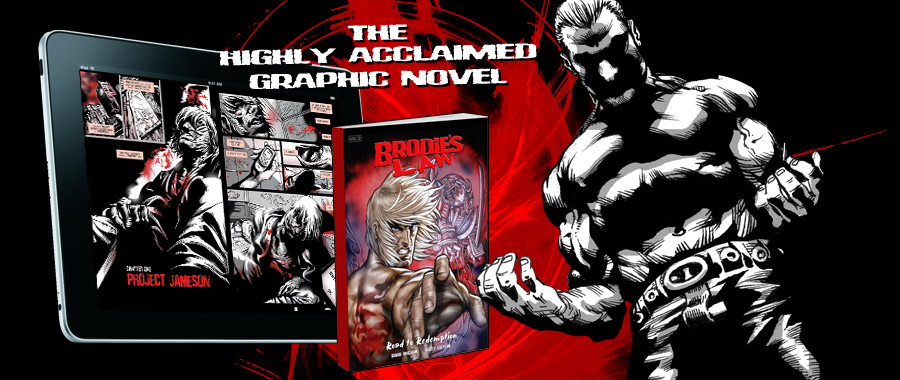 Brodie's Law Graphic Novel